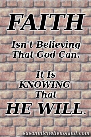 Faith, plain and simple