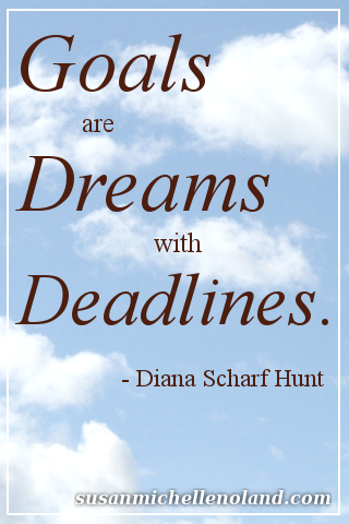 goals dreams deadlines-hunt