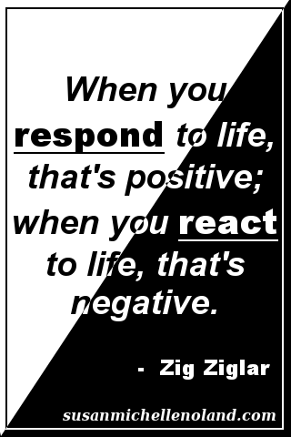 respond react - ziglar