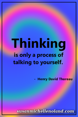 thinking - thoreau
